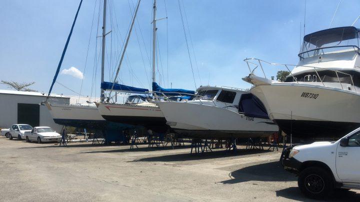 Trailer Boat Storage