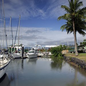 Cairns Cruising Yacht Squadron Finger
